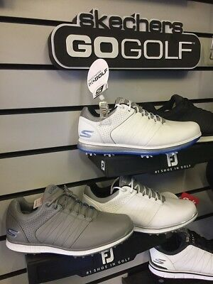 Skechers Go Golf Elite Shoes - White Or Grey - Surplus Stock Clearout!