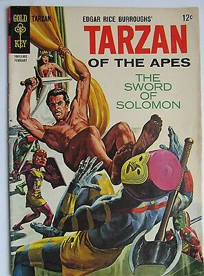 148 1965 TARZAN OF THE APES  SILVER AGE  Edgar Rice Burroughs  FN+ / VF-
