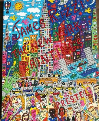 James Rizzi The New York Paintings Buch