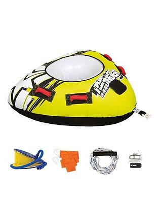 NEW JOBE THUNDER Package 1 Person Towable Ringo Tow Rope Pump Inflatable Toy