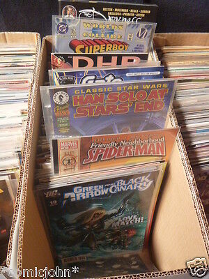 Job lot of 200 X American comic books. Marvel, DC and independents. Great value.