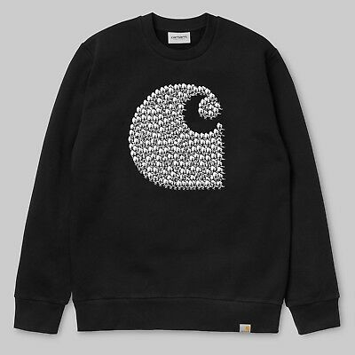Carhartt Felpa Duck Sweat - Felpa Duck Black