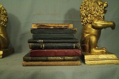 lot antique little small old books leather New Testament Bible Pocket Prayer etc