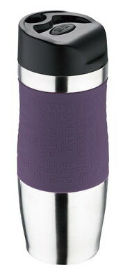 Thermobecher Thermo-Kaffeebecher Becher Isolierbecher Coffee to Go LILA violett