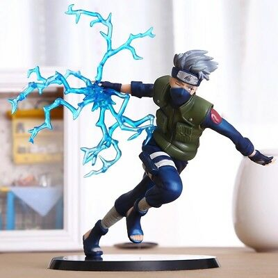 HOT Anime Naruto Kakashi 6'' Deluxe Collection Action Figure PVC Model Anime Toy