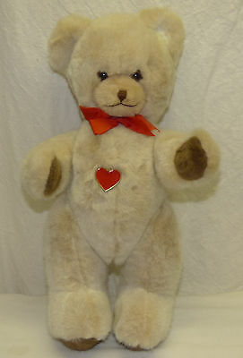 "15"" Berg Teddy Bear Growler Stuffed Plush Animal w/ Heart Austria Valentine Gift"