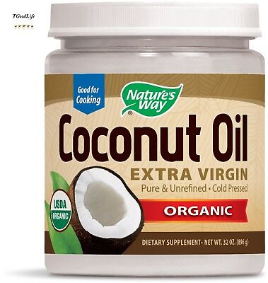 Nature's Way Organic Extra Virgin Coconut Oil,16 Ounce FREE worldwide shipping