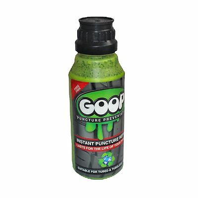 Goop Tyre Puncture Sealant Puncture Preventer / Proofer Kit / 500ml / UK Made