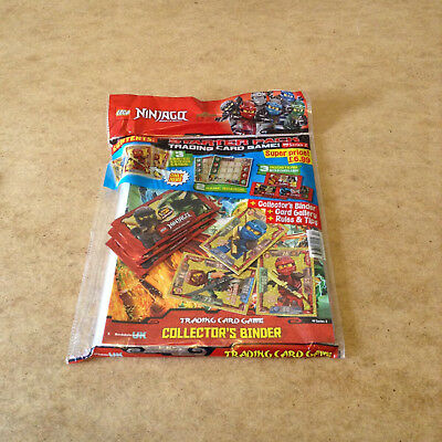 Lego Ninjago Trading Card Starter Pack 3 Limited Edition Cards 3 Booster Packs