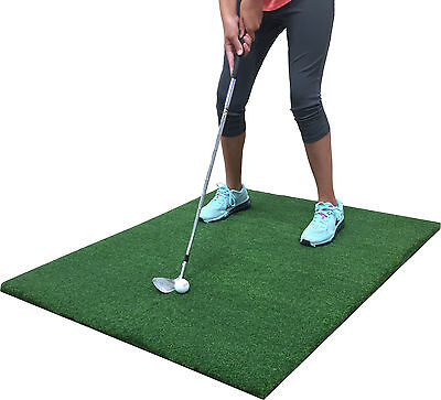 "Par Golf Mat 36"" x 36"" Pro Residential Practice Golf Chipping Fairway Mat"