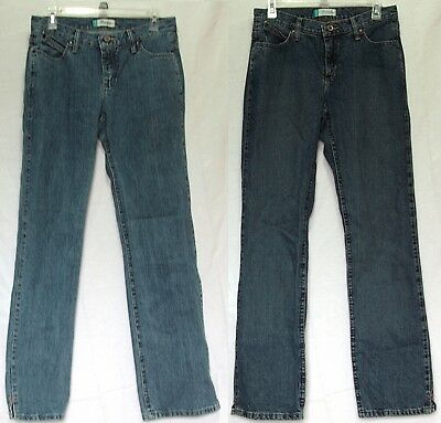 Lot of 2 Women's Wrangler Cash Jeans Seconds/Blemished 7/8 x 34