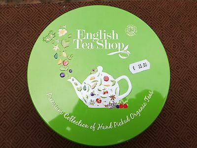 Boite Ronde thé English tea shop bio