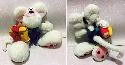 """Diddl Peluche 22 Cm Soft Plush 9"""" With Backpack & Pencil First Version"""