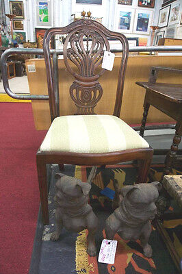 8 Hepplewhite Carved Dining Chairs 2 Arm & 6 side