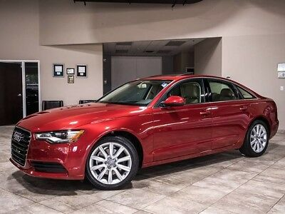 2013 Audi A6 Premium Plus Sedan 4-Door 2013 Audi A6 2.0T Quattro Tiptronic MSRP $50k+ Premium Plus! Cold Weather! WOW!
