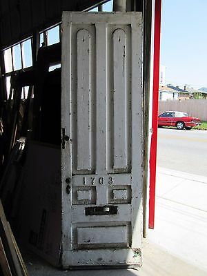 ~ Big Antique  Victorian Door ~ 33.5 X 104 ~ Architectural Salvage ~