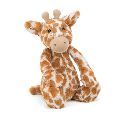 """Jellycat 22"""" HUGE BASHFUL GIRAFFE Plush Toy - Retired - Brand New with Tags"""