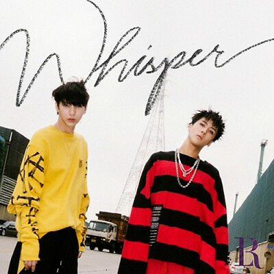 VIXX LR [WHISPER] 2nd Mini Album CD+POSTER+Photo Book+3p Card+Sticker Set SEALED
