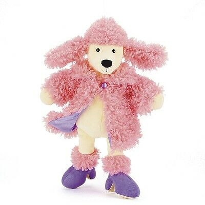 """Jellycat 12"""" FURCOAT POODLE Plush Toy - RETIRED -  Brand NEW with Tags"""