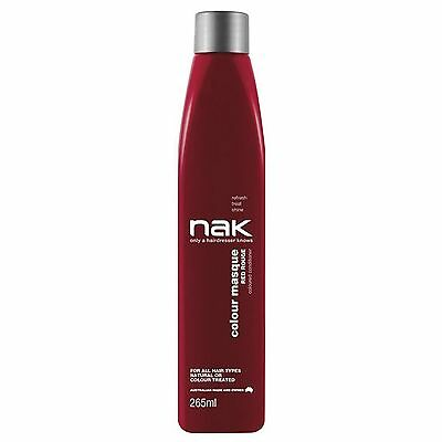Nak Colour Masque Coloured Conditioner --Red Rouge-- 265 Ml With Pump