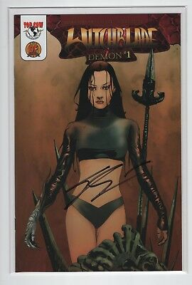 Witchblade The Demon #1  (DF Exclusive Signed with COA)  Dynamic Forces NM
