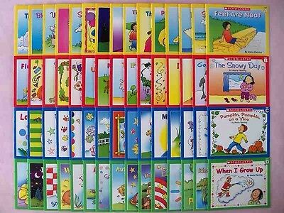 Lot 60 Childrens Books Kindergarten First Grade Phonics Levels Levels ABCD