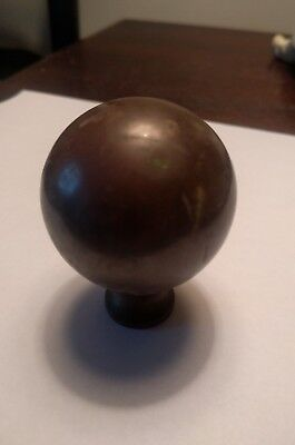 "Furniture Repair Parts Iron Bed Or Brass Bed Brass Ball 2 "" In Diameter-2 1/2 H"