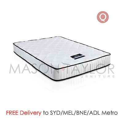 FREE DELIVERY(T&C) High-Density Foam Pocket Spring Bed Mattress 21cm Queen Size