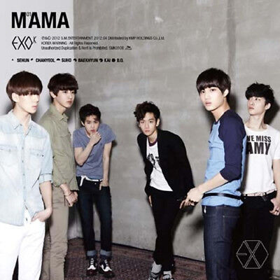 EXO-K [MAMA] 1st Mini Album KOREAN Ver CD+Photo Book+Photo Card+GIFT CARD SEALED