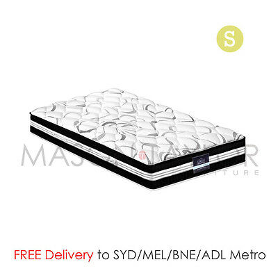 FREE DELIVERY(T&C)30CM Medium Firm Pocket Spring Bed Mattress Single Size Luxury
