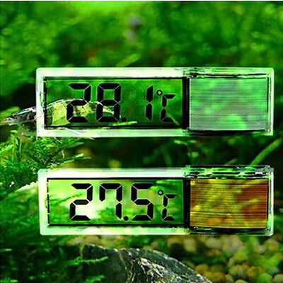 LCD Digital Fish Reptile Aquarium Tank Water Marine Thermometer Temperature AU