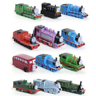 Thomas And His Friends Trains 12 PCS Action Figure Cake Topper Toys Kids Gift