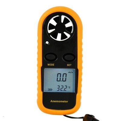 GM816 Anemometer LCD Smart Air Velocity Wind Speed Scale Meter Measure