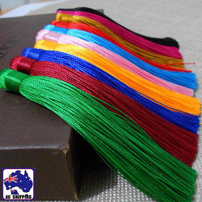 10pcs Handmade Tassels Curtains Cushion Crafts Jewellery Making 12cm CKTE903