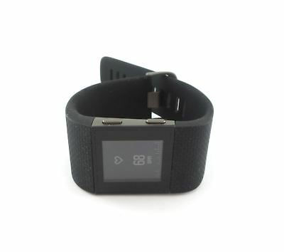 Fitbit Surge Fitness Activity Watch with Heart Rate Monitor Large Black DEMO