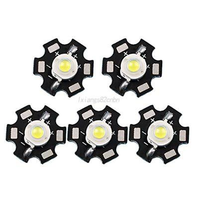 10x SMD COB LED Chip With Star PCB High Power Beads White Light 1W 3W