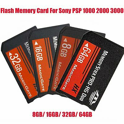 New Memory Stick MS Pro PRO-HG Duo Flash Memory Card For Sony PSP 1000 2000 3000
