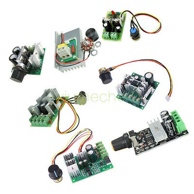 3/10/15/20A PWM 6-28V/10-60V/6-60V/12-40V/6-90V/12V Motor Speed Control Switch M