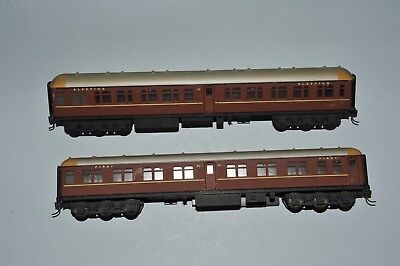 NSWGR `TAM & MBE` Carriages, by Lima.