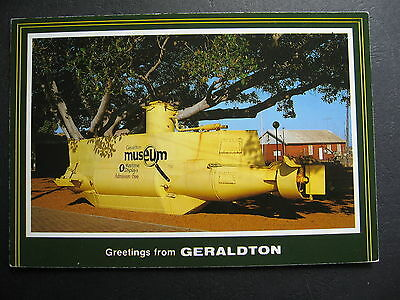 The Yellow Submarine Geraldton Museum Western Australia