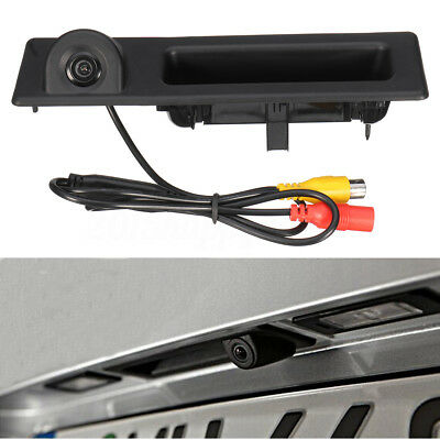 Trunk Handle Reversing Rear View Camera For BMW 3 5 Series F10 F11 F25 F30 F31