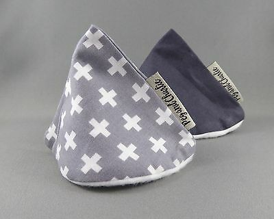 Wee Wee Tee Pee Set - Grey Crosses