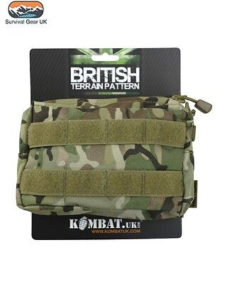 Army Kombat Molle Utility Pouch Btp Mtp Military Airsoft Paintball