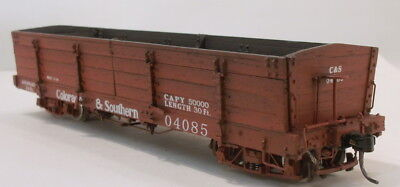 On3 RTR BLW COLORADO & SOUTHERN CINDER CAR #04085 FAC PAINTED & WEATHERED