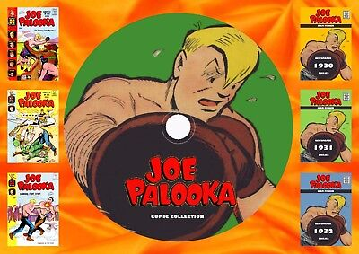 Joe Palooka Comics & Strips On DVD Rom