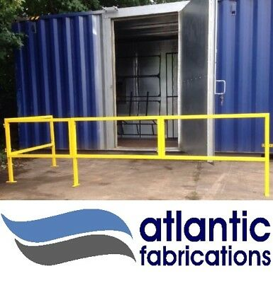 Pedestrian WALKWAY Forklift Protection Barrier inc gate
