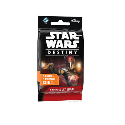 Star Wars Destiny - Empire At War Booster Pack Brand New 1ct Factory Sealed NIB