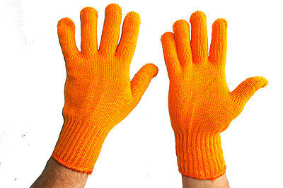 Garden Safety Protective Knitted Industrial Gloves (10 pairs)