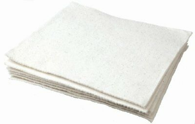 """Oil Eater AOA-NBPL200-WHITE 16"""" x 18"""" Woven Light Weight Oil Absorbent Pad"""
