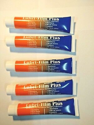 Lubrifilm, Lubri film, Petrol gel 1oz  for ice cream and slush machines 1x5